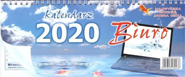 Kalendarz 2020 Biurkowy leżący ANIEW