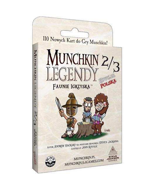 Munchkin Legendy 2/3 - Faunie Igrzyska BLACK MONK