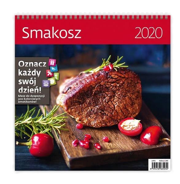 Kalendarz 2020 Smakosz 30x30cm NARCISSUS