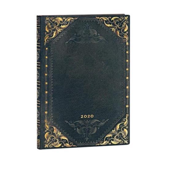 Kalendarz książkowy midi 2020 12M hor. Midnight