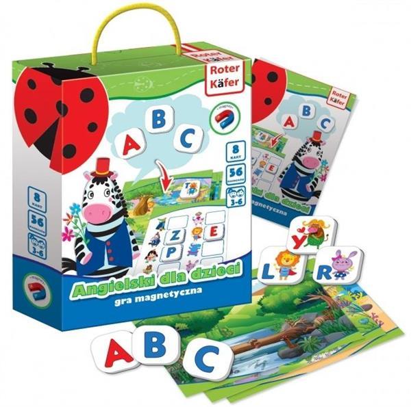 Angielski dla dzieci gra magnetyczna