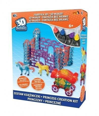 3D Magic - Fabryka 3D - zestaw Księżniczki