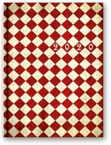 Kalendarz 2020 Dzienny A5 Soft Karo 21DS-01