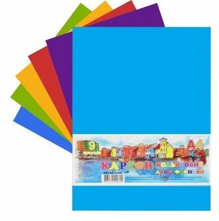 Karton kolorowy A4/9K 230g/m2 FRESH