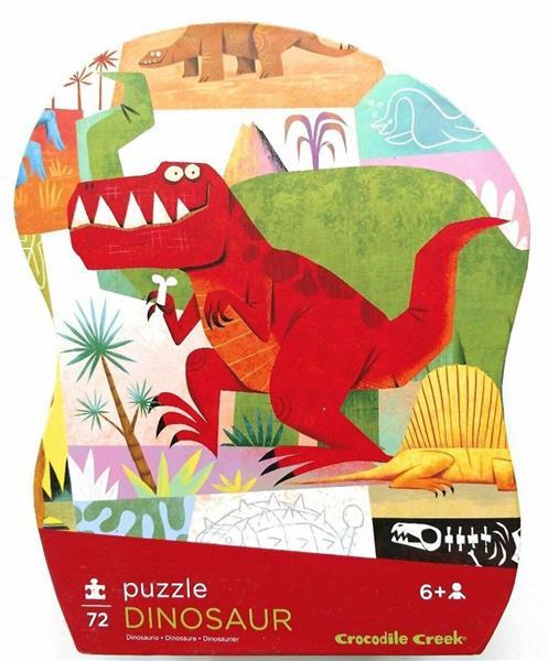 Puzzle 72 el. - Dinozaury