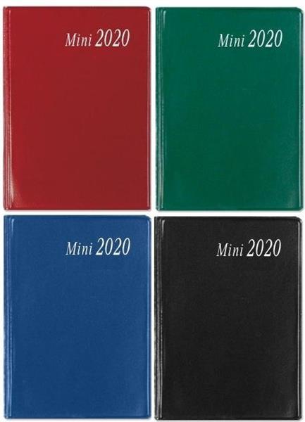 Kalendarz 2020 kiesz. MINI opr. pcv SK9 mix