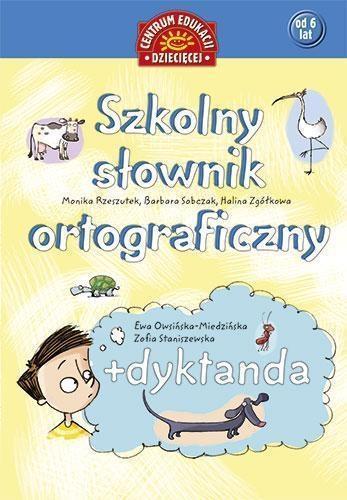 Szkolny słownik ortograficzny + dyktanda OUTLET