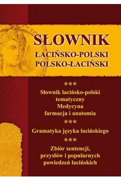 SŁOWNIK ŁACIŃSKO-POLSKI  POLSKO- ŁACIŃSKI outlet