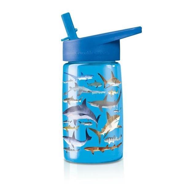 Butelka z rurką Rekiny