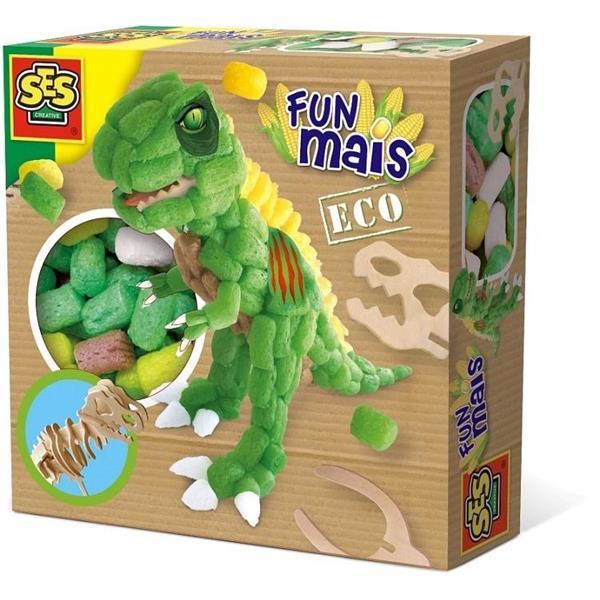 Funmais - drewniany szkielet Dinozura do wyklejani