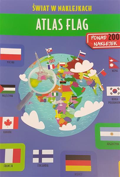 Świat w naklejkach - Atlas flag