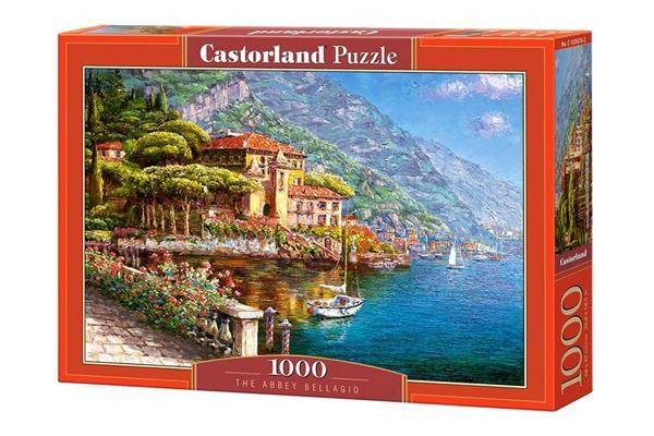 Puzzle 1000 Opactwo Bellagio CASTOR