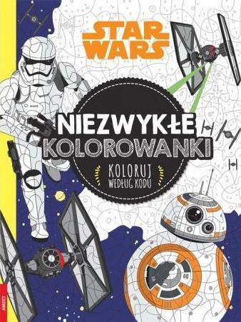 Star Wars. Niezwykłe kolorowanki. Koloruj według k-33477