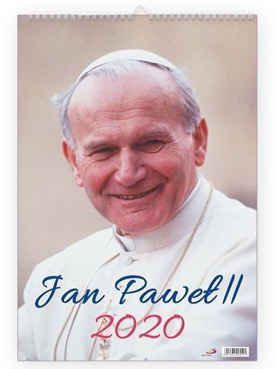 Kalendarz 2020 Ścienny - Święty Jan Paweł II-351589
