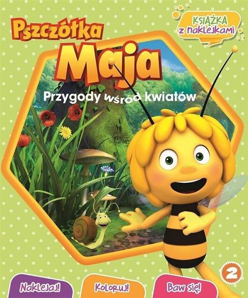 Pszczółka Maja Naklejaj! Koloruj! Baw się! -8463
