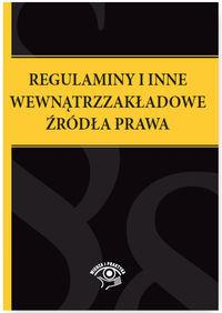 REGULAMINY I INNE WEWNĄTRZZAKŁADOWE ŹRÓDŁA..outlet-7995