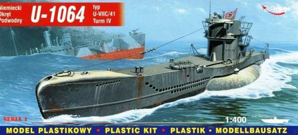 Okręt Podwodny U-1064 Niemiecki-304424