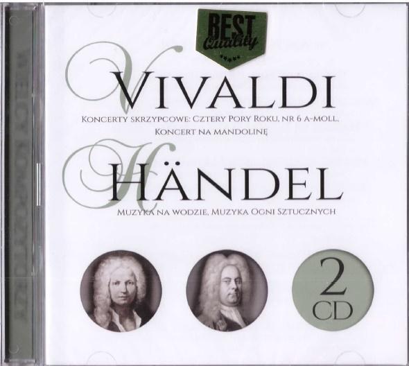 Wielcy kompozytorzy - Vivaldi, Handel (2 CD)-323911