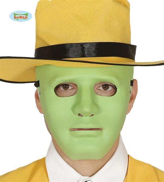 Maska -zielona maska