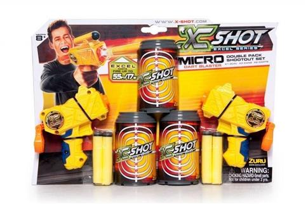 X-Shot Podwójny Micro