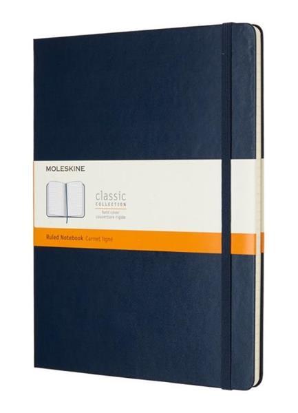 Notes Classic 19x25 cm linia szafirowy MOLESKINE
