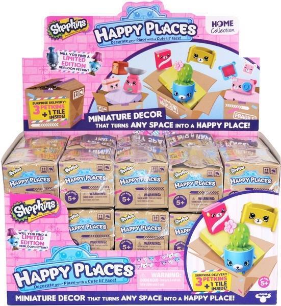 Shopkins HappyPlaces S1 Niespodzianka 3-pak(30szt)