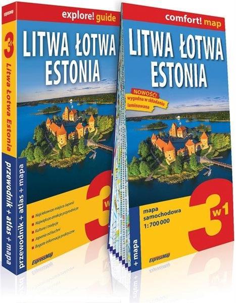Explore! guide Litwa, Łotwa, Estonia 3w1w.2019