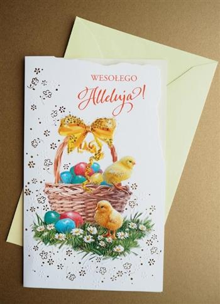 Karnet Wielkanoc + koperta ARGUS