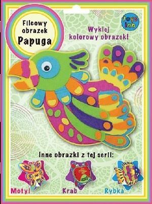 Obrazek filcowy PAPUGA Stnux OUTLET