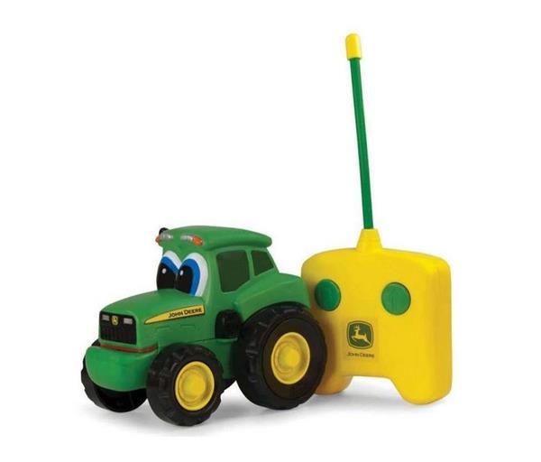 John Deere traktor baby na radio TOMY