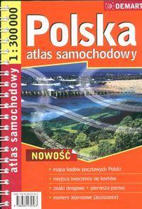 Polska 1:300 000 atlas samochodowy