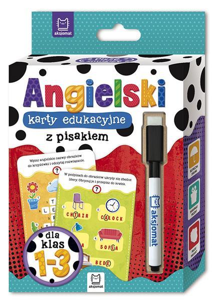 Język angielski. Karty edukacyjne z pisakiem