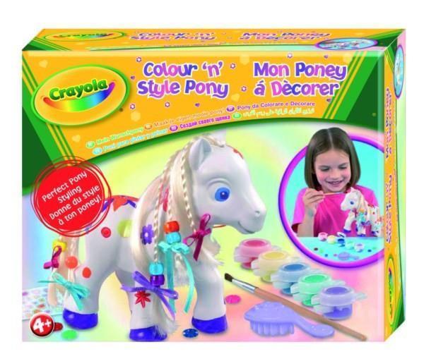 Zestaw konik Pony 2. Crayola