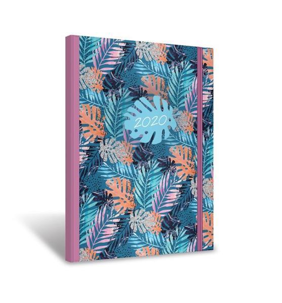 Kalendarz 2020 książkowy z gumką A5 Madame OXFORD
