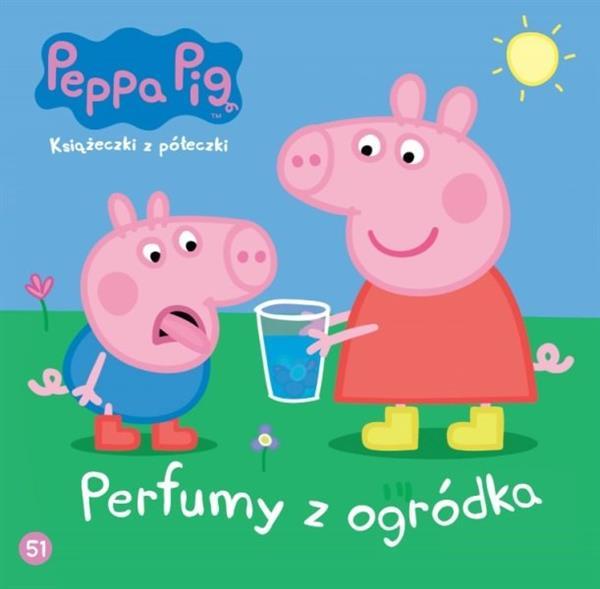 Świnka Peppa. Książeczki z półeczki nr 51. Perfumy