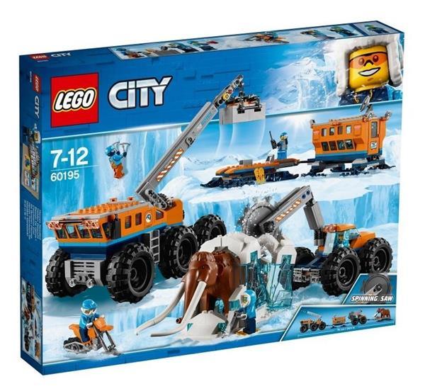 Lego CITY 60195 Arktyczna baza mobilna