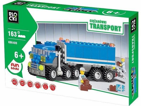 Klocki Blocki Transport Ciężarówki Tir