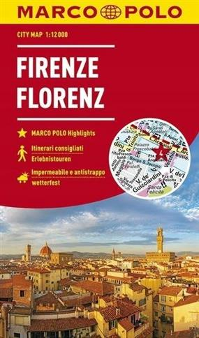 MARCO POLO City Map Florenz 1:12 000