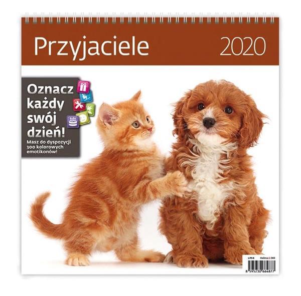 Kalendarz 2020 Przyjaciele 30x30cm NARCISSUS