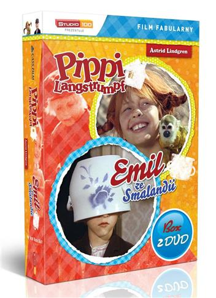 Pippi Langstrumpf/Emil ze Smalandii 1 (BOX 2DVD )