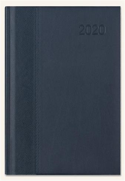 Kalendarz 2020 Książkowy A4 Classic gecco/granat