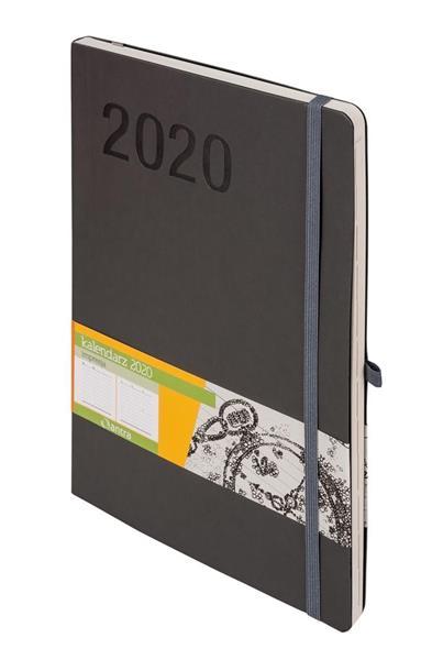 Kalendarz 2020 Impresja B5 Szara TDW ANTRA