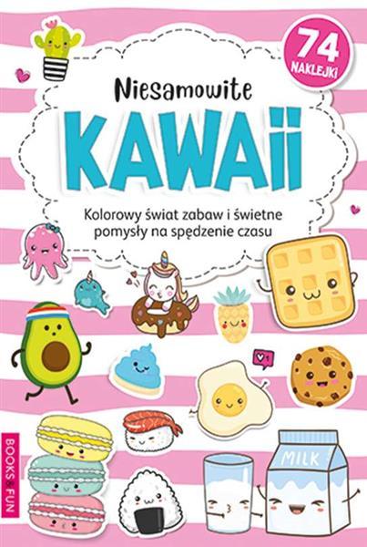 Kolorowanka Niesamowite kawaii