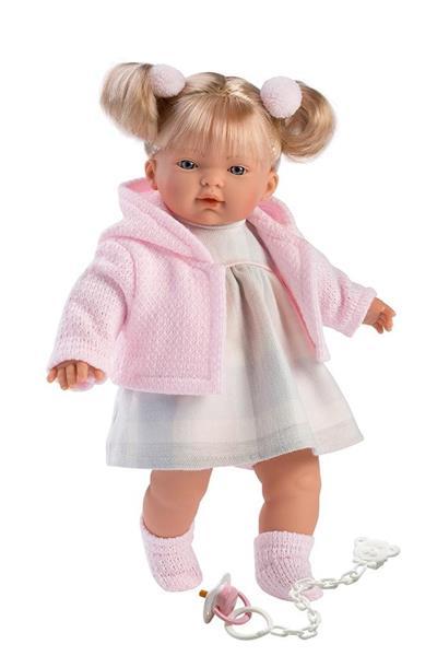 Lalka 33102 Aitana płacząca różowa blondynka 33cm