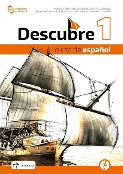 Descubre 1 podręcznik + CD NPP DRACO