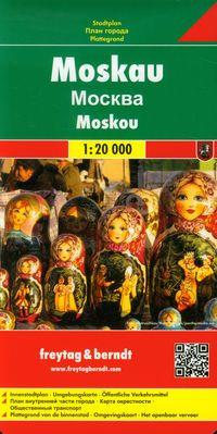MOSKWA MAPA 1:20 000  outlet