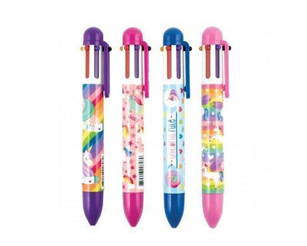 Długopis Mechaniczny 6w1 Jednorożce