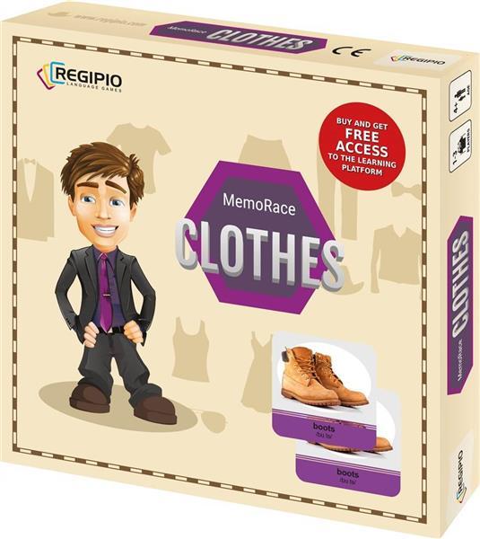 MemoRace Clothes REGIPIO