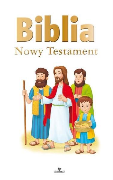 Biblia ilustrowana. Nowy Testament (biała)