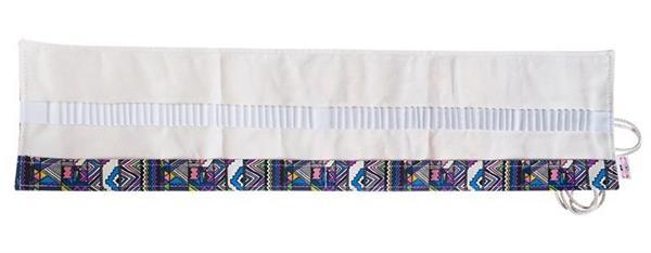 Etui na kredki 72szt wiązane kolorowe